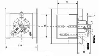 FHF-FVD2 防火调节阀